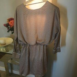 Zara mini dress backless